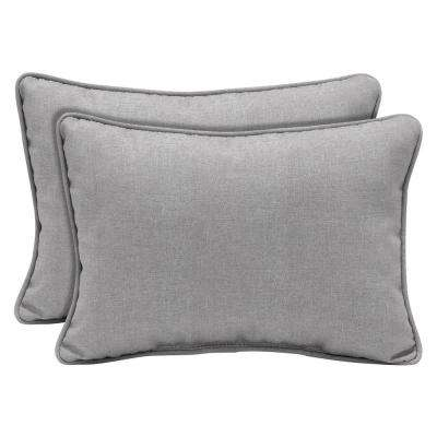 Paloma Woven Outdoor Lumbar Pillow (2-Pack)