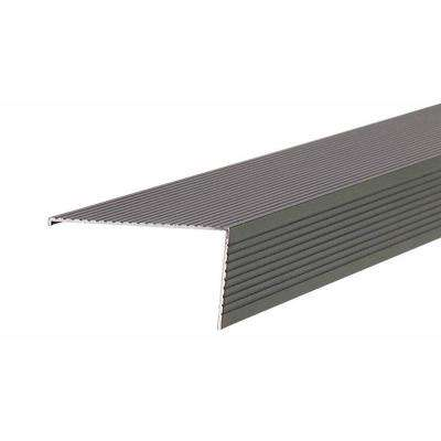 TH026 2.75 in. x 1.5 in. x 36 in. Bronze Sill Nosing Weatherstrip