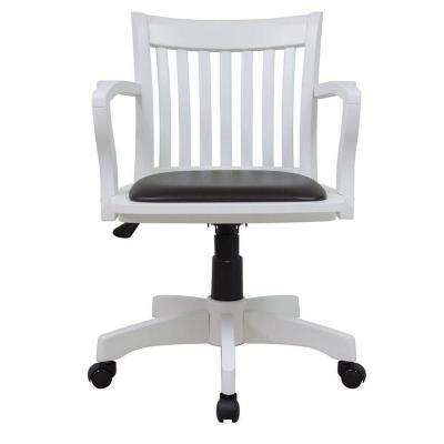 home decorators office furniture. oxford white office chair home decorators furniture o
