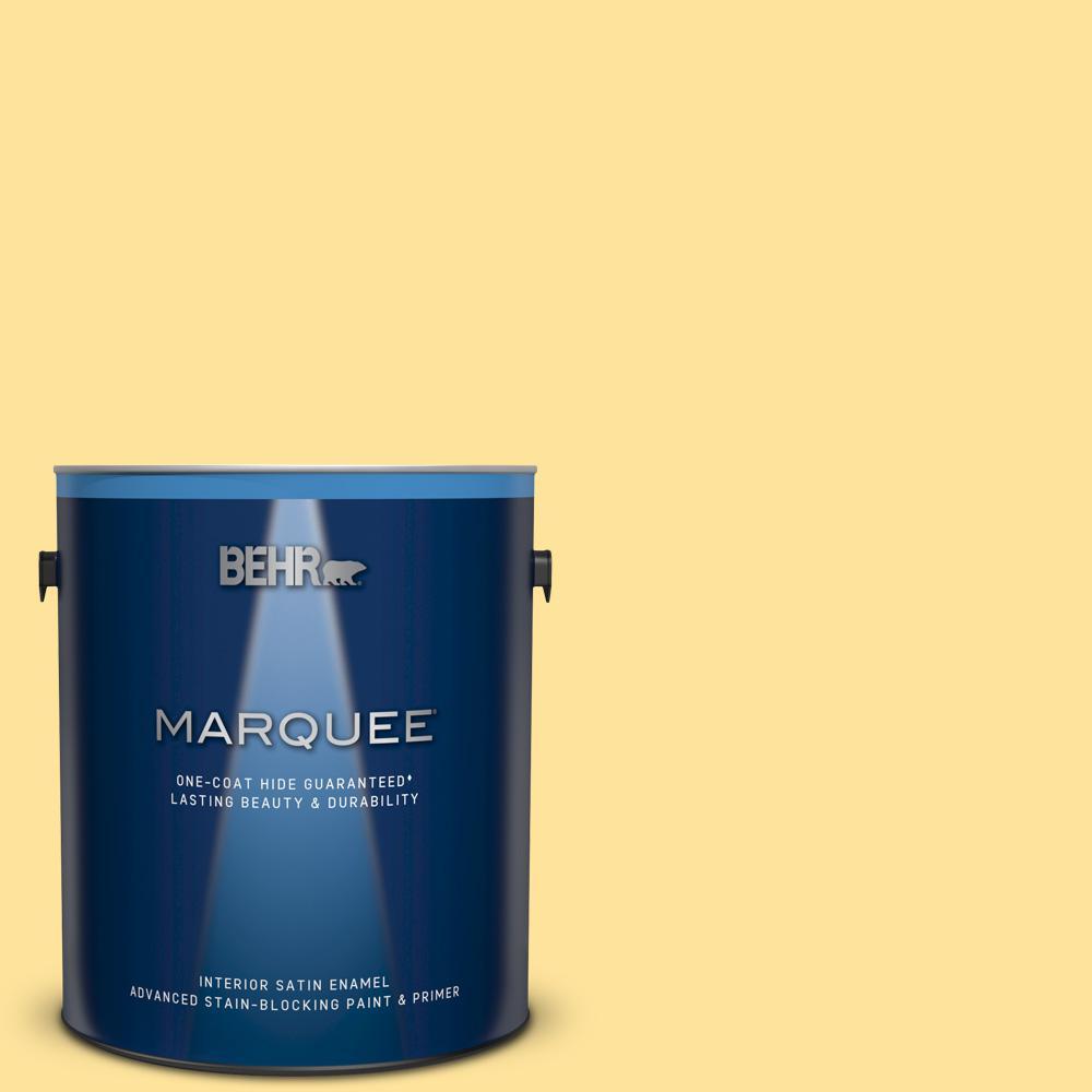 BEHR MARQUEE 1 gal  #P370-3 Chameleon Skin Semi-Gloss Enamel