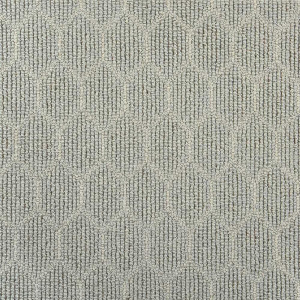 Natural Harmony Entanglement Dew Ivory Custom Rug With Pad