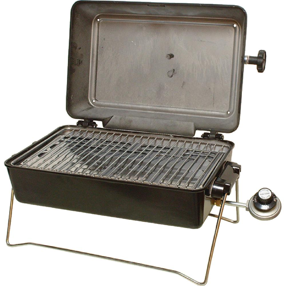 Springfield 1-Burner Portable Propane Gas Grill With Mult...