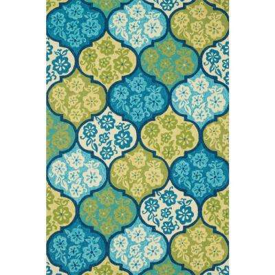 Ventura Lifestyle Collection Sea 2 ft. 3 in. x 3 ft. 9 in. Area Rug