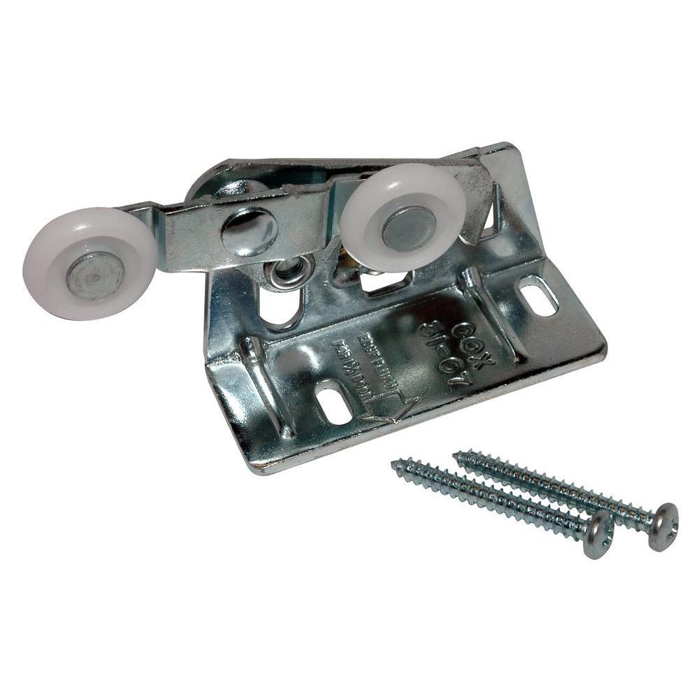 Milled Steel Pocket Door Wheel Assembly