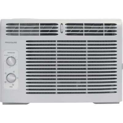 12,000 BTU 115-Volt Window-Mounted Compact Air Conditioner with Remote Control