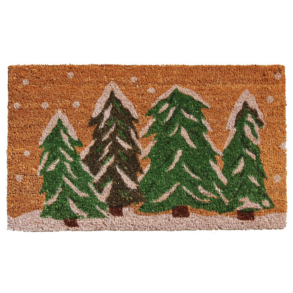 Christmas Rugs Doormats Christmas Decorations The Home Depot