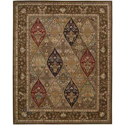 2000 Multicolor 8 ft. x 10 ft. Area Rug