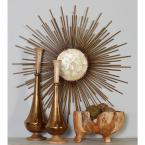 Iron Bronze Capiz Sunburst Metal Work