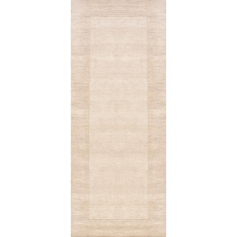 Paine Beige 3 ft. x 8 ft. Runner Rug