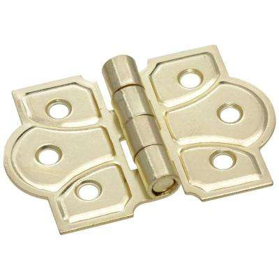 1-1/2 in. Ornamental Cabinet Hinge (2-Pack)
