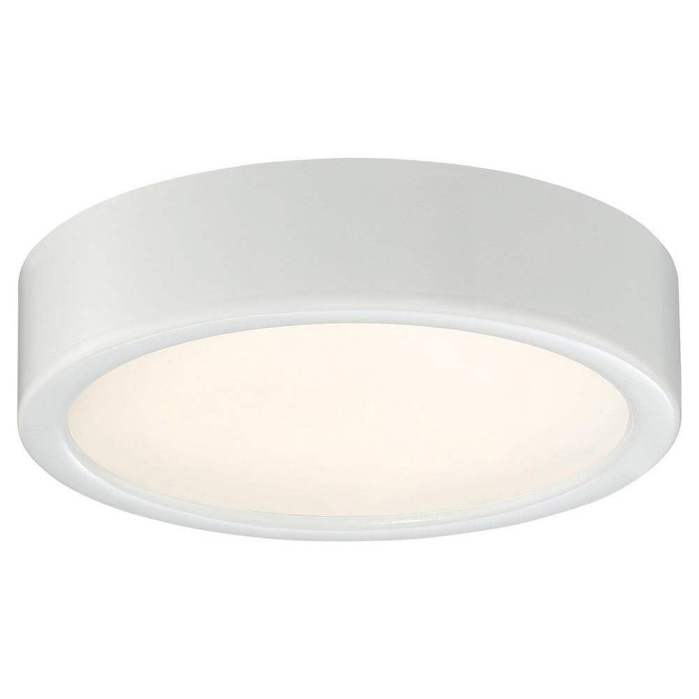 40-Watt Equivalent White Integrated LED Flush Mount