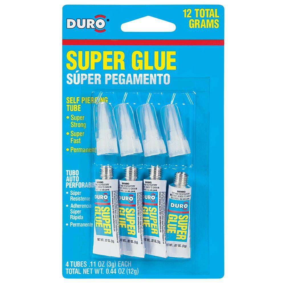 Duro Liquid Super Glues (4-Pack)