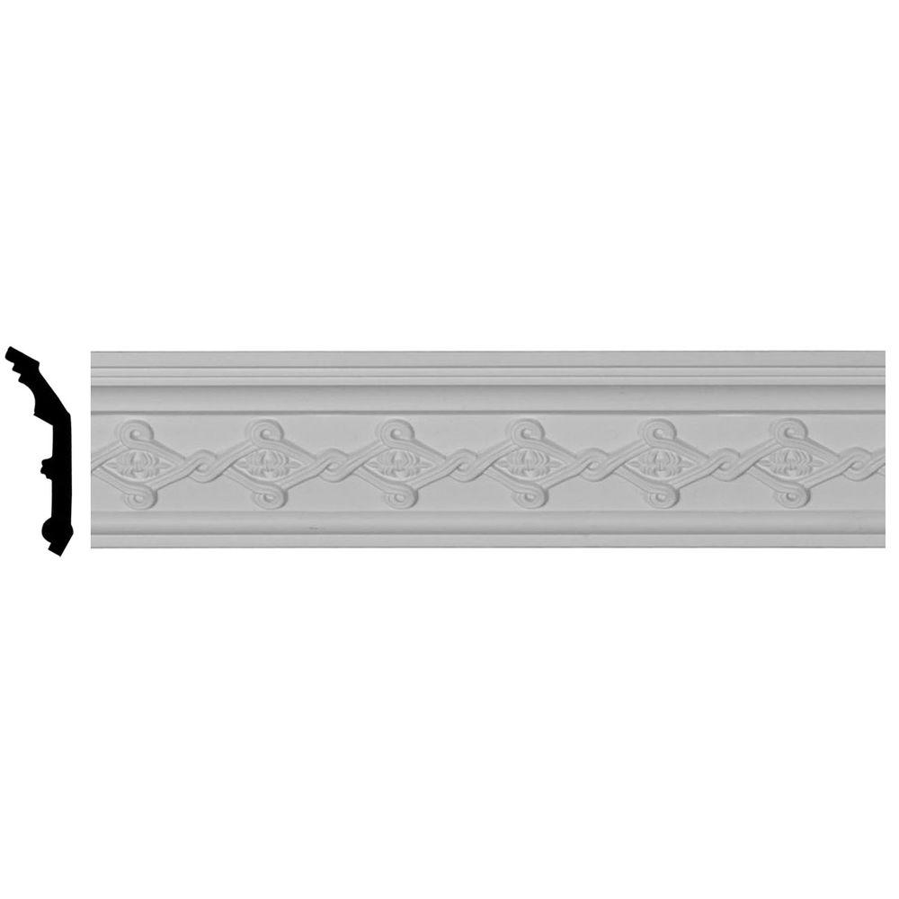 2-7/8 in. x 3-1/8 in. x 94-1/2 in. Polyurethane Kendall Crown