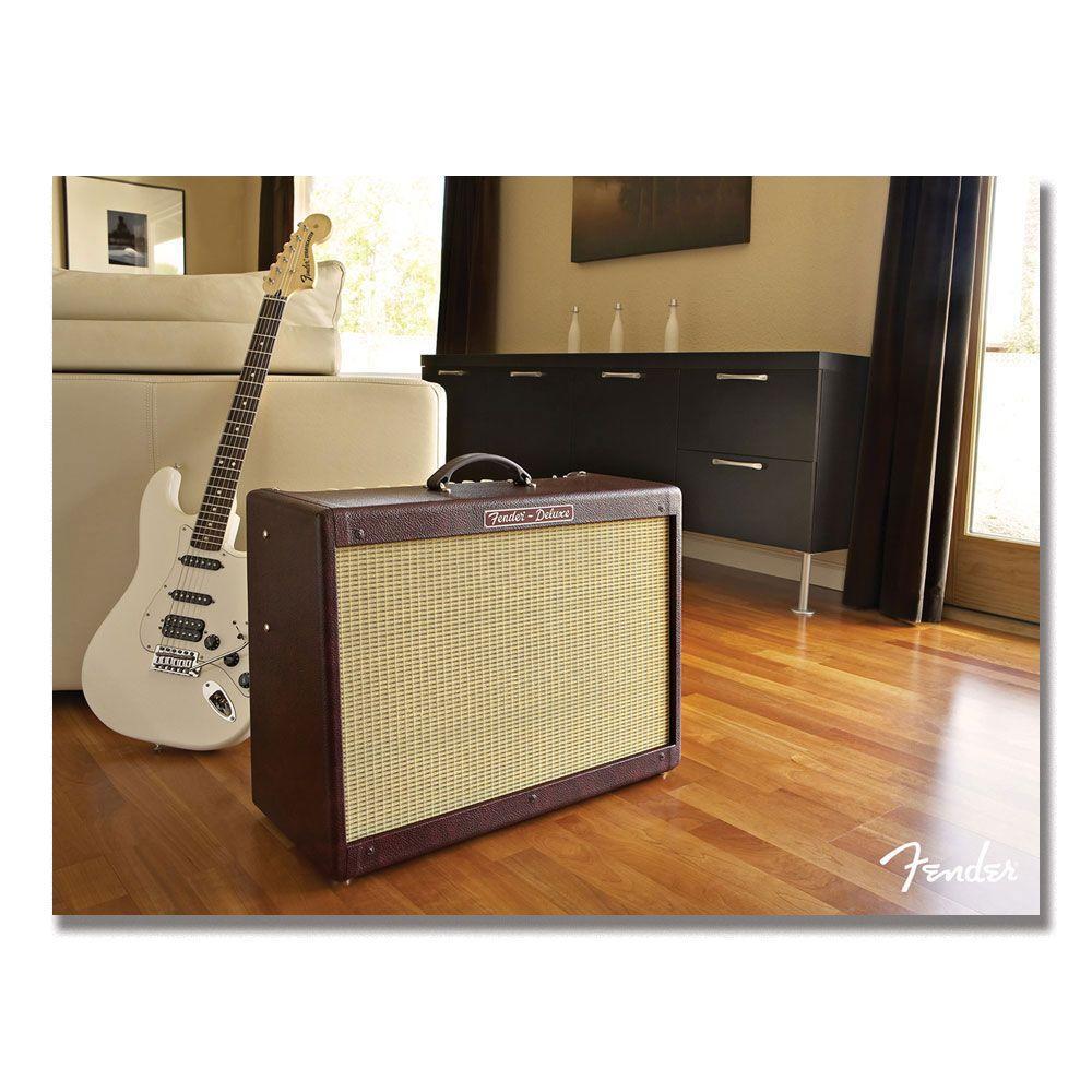 Trademark Fine Art 18 in. x 24 in. Fender Relax Its a Strat Canvas Art