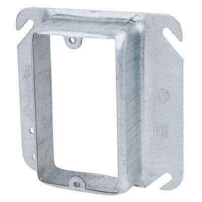 1-Gang 4 in. Square Metal Electrical Box Mud Ring