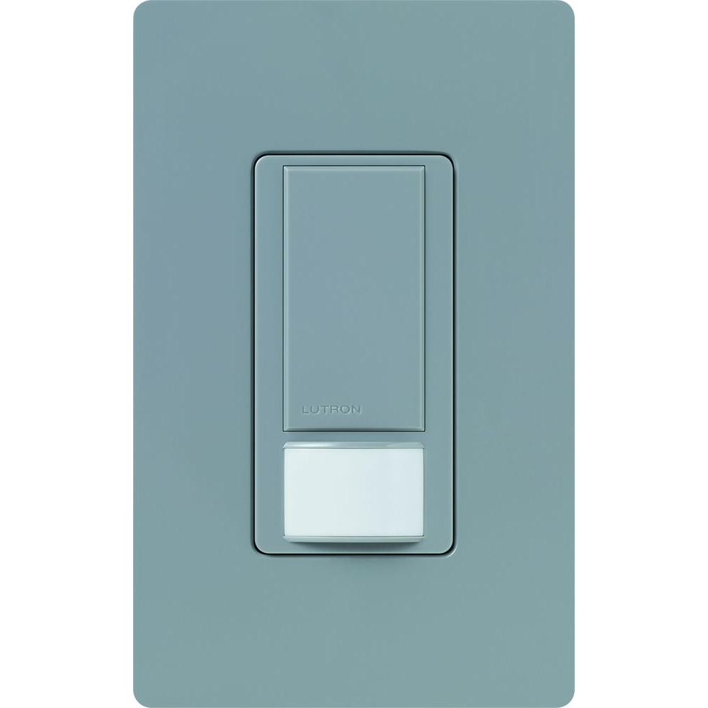 Lutron Maestro Dual Voltage Motion Sensor switch, 6-Amp, Single-Pole, Greenbriar