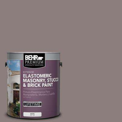 1 gal. #MS-89 Folkstone Elastomeric Masonry, Stucco and Brick Paint