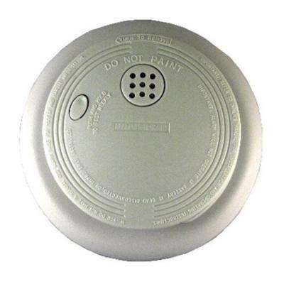 Battery-Operated Ionization Smoke and Fire Alarm