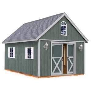 Best Barns Belmont 12 ft. x 24 ft. Wood Storage Shed Kit by Best Barns