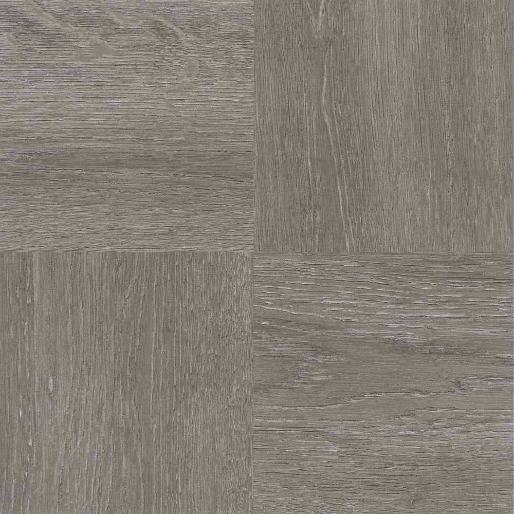 Achim Tivoli Charcoal Grey 12 In X 12 In Peel And Stick