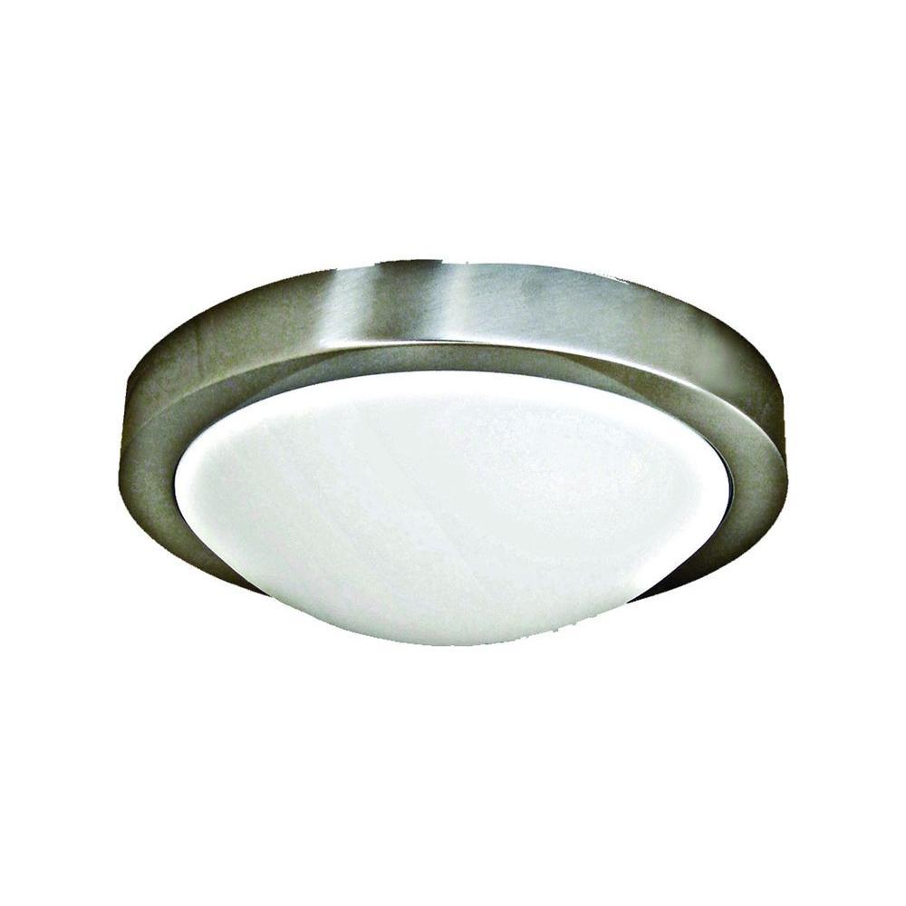 Marquis Lighting 1-Light Satin Chrome Flushmount