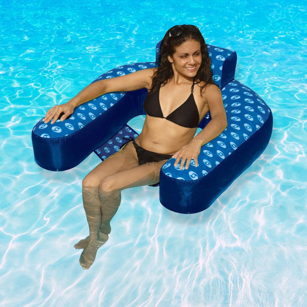 Swimline Solstice Designer Loop Swimming Pool Lounge-15120DC - The ...