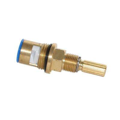 Brass Cartridge: Cold, 16Pt Spline for Altman and other Luxury Faucets