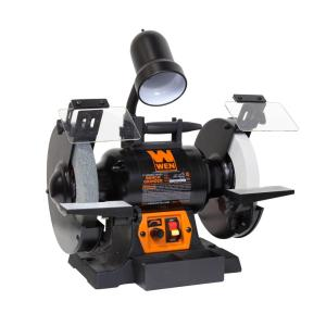 Wen 5-Amp 8 inch Corded Variable Speed Bench Grinder with Work Light by WEN