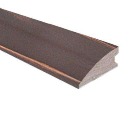 Smoky Mineral/Flax/Natural Fossil 3/8 in. x 1-1/2 in. Wide x 78 in. Length Hardwood Flush-Mount Reducer Molding