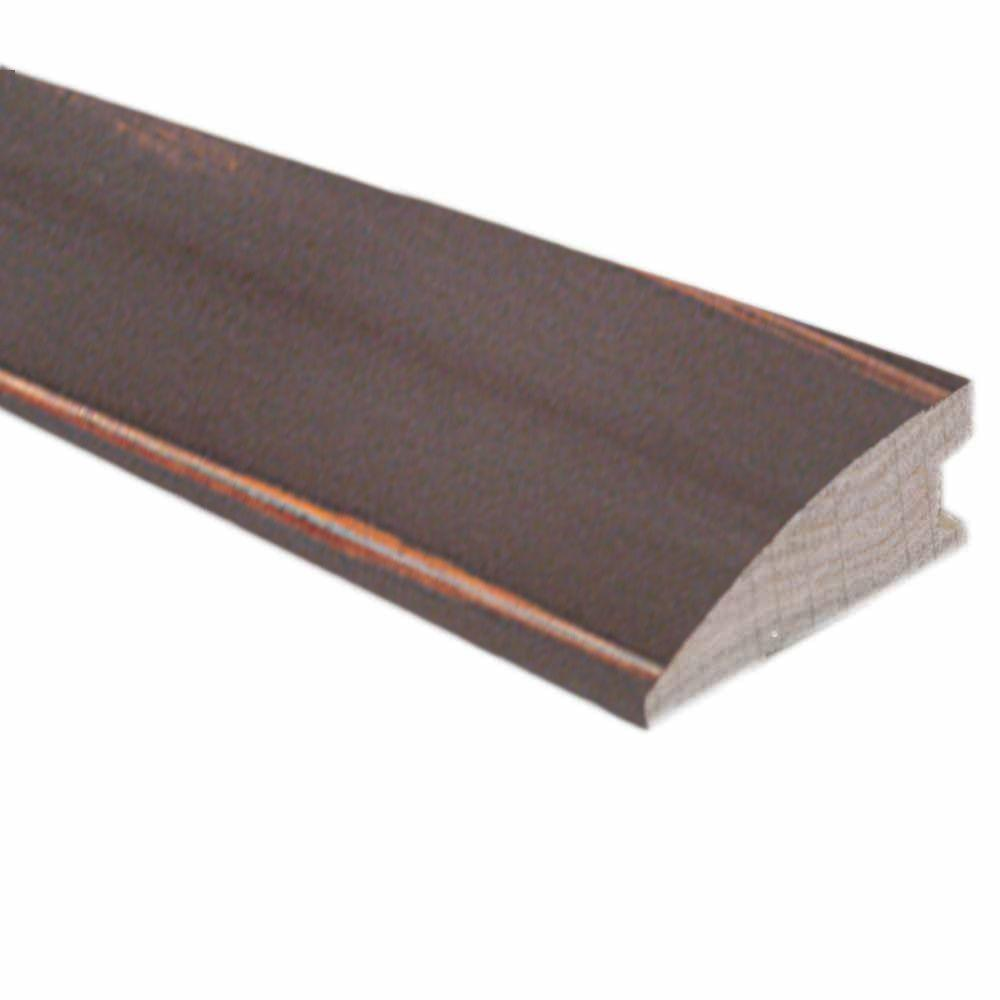 Heritage Mill Smoky Mineral/Flax/Natural Fossil 3/8 in. x 1-1/2 in. Wide x 78 in. Length Hardwood Flush-Mount Reducer Molding