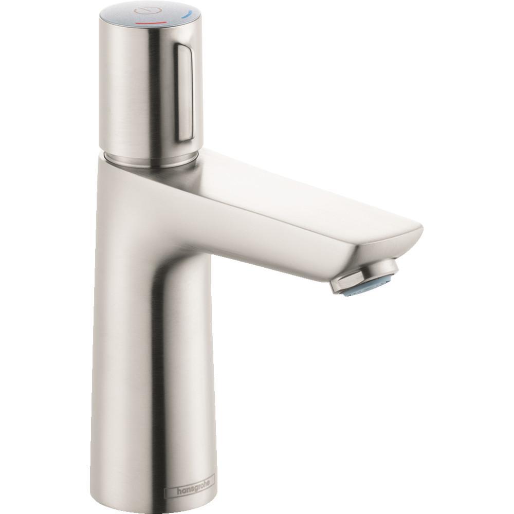 Talis Select E Single Hole Single-Handle Bathroom Faucet in Brushed Nickel