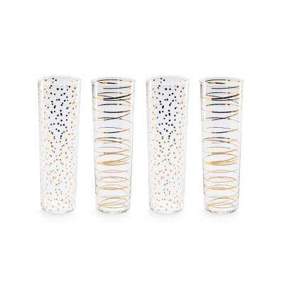 Luxe Moderne 8 oz. Flutes (Set of 4)