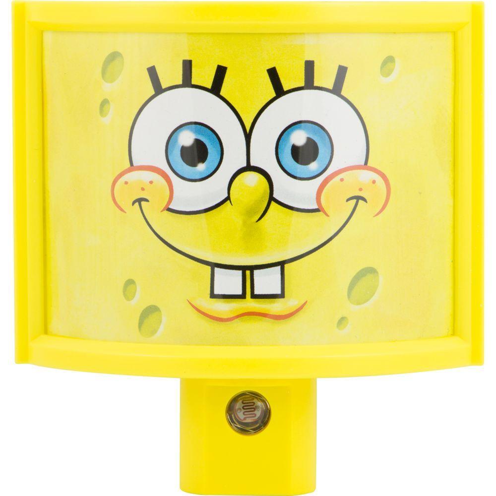 Jasco SpongeBob SquarePants Nickelodeon Wraparound LED Shade Night Light