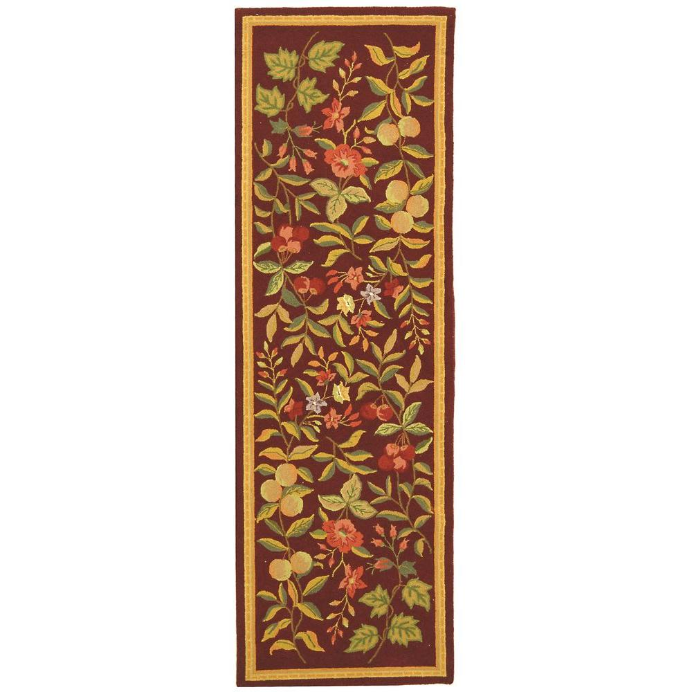 Chelsea Burgundy 2 ft. 6 in. x 6 ft. Rug Runner
