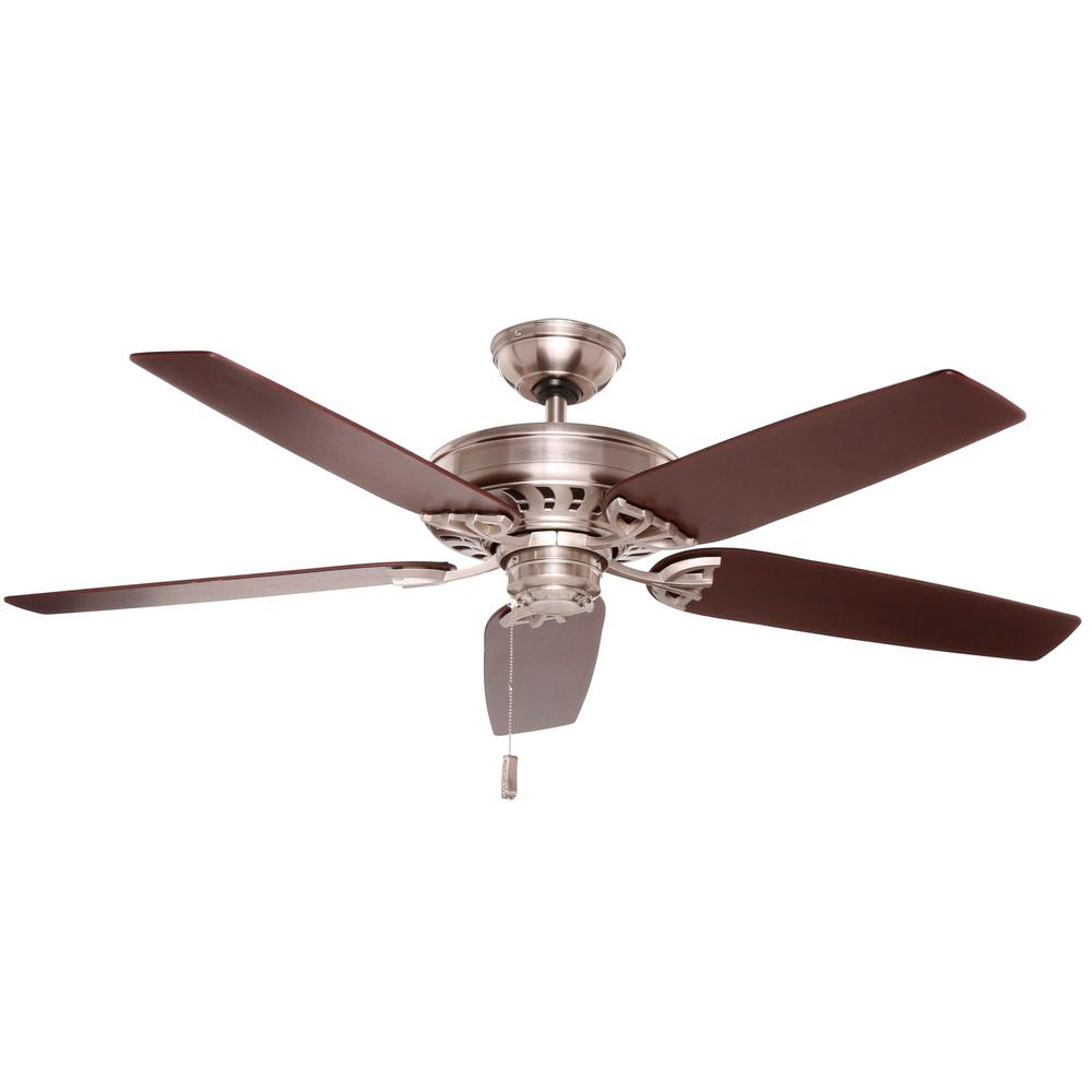 Casablanca Concentra 54 in. Indoor Brushed Nickel Ceiling Fan