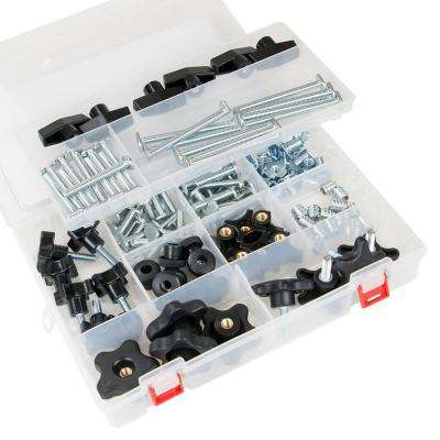 T-Track Jig Hardware Kit (129-Piece)