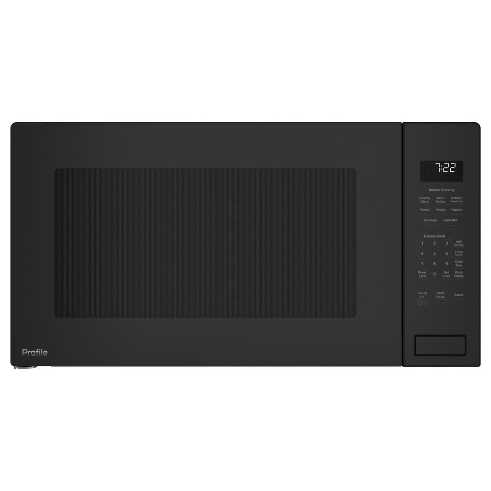 GE Profile 2.2 cu. ft. Countertop Microwave in Gray with Sensor Cooking