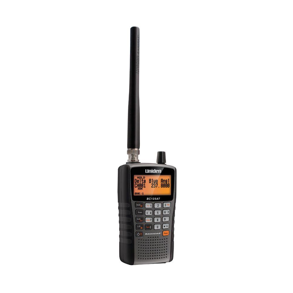 Uniden Handheld Scanner with 500 Channels and Alpha Tags