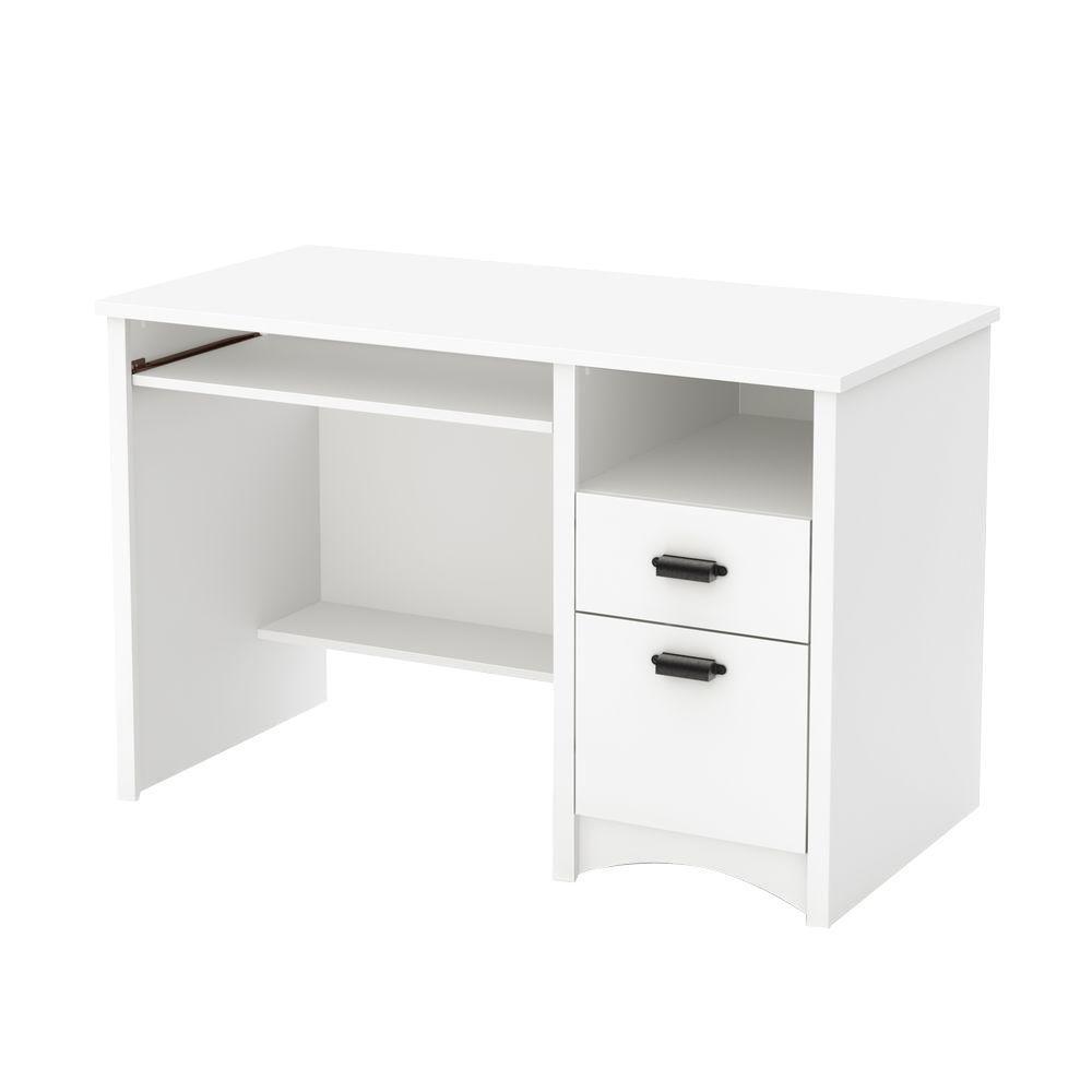 Gascony Pure White Desk
