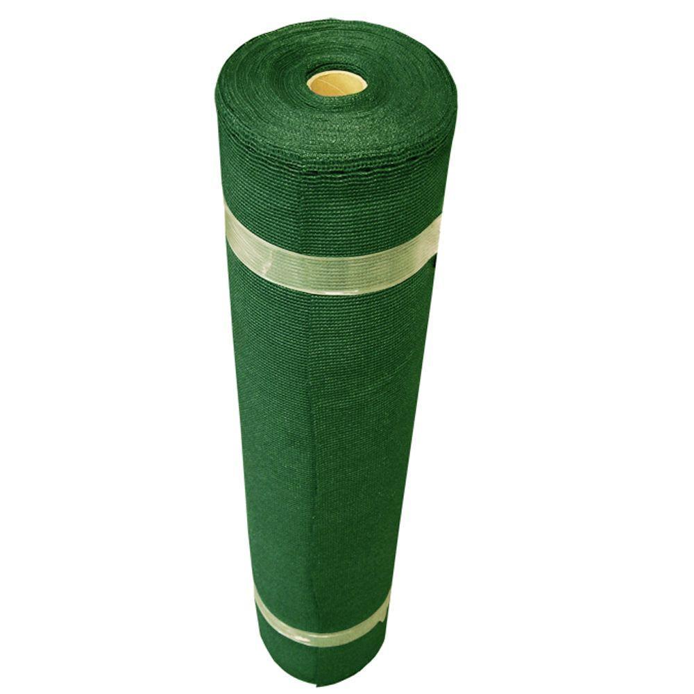 6 ft. x 100 ft. Heritage Green Shade Cloth - 90% UV Block