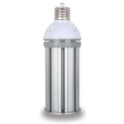250-Watt Equivalent 54-Watt Corn Cob ED28 HID LED High Bay Bypass Light Bulb Mog 120-277-Volt Daylight 5000K