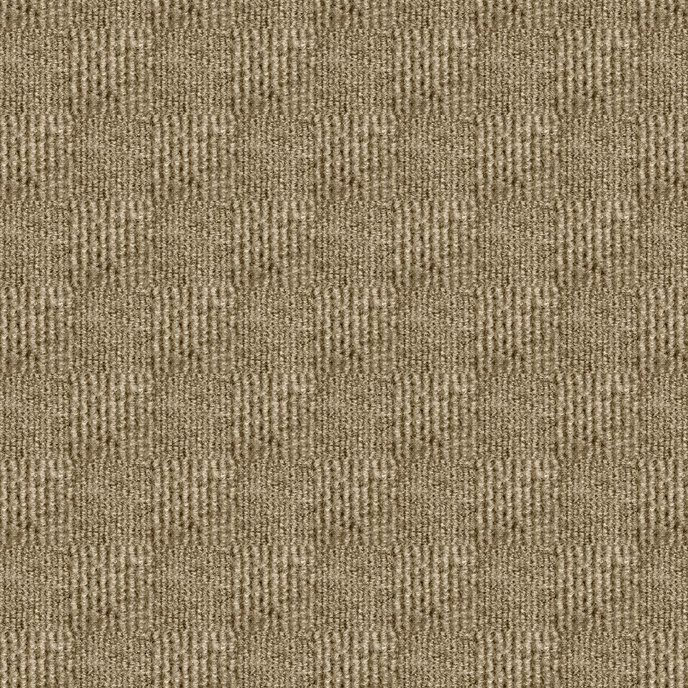 Foss Premium Self-Stick Sophisticated Taupe Pattern 18 in. x 18 in. Carpet Tile (16 Tiles/Case)