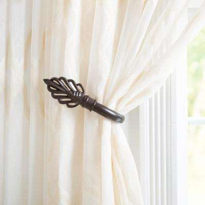 holdbacks needle p curtain with asp finials thatchers