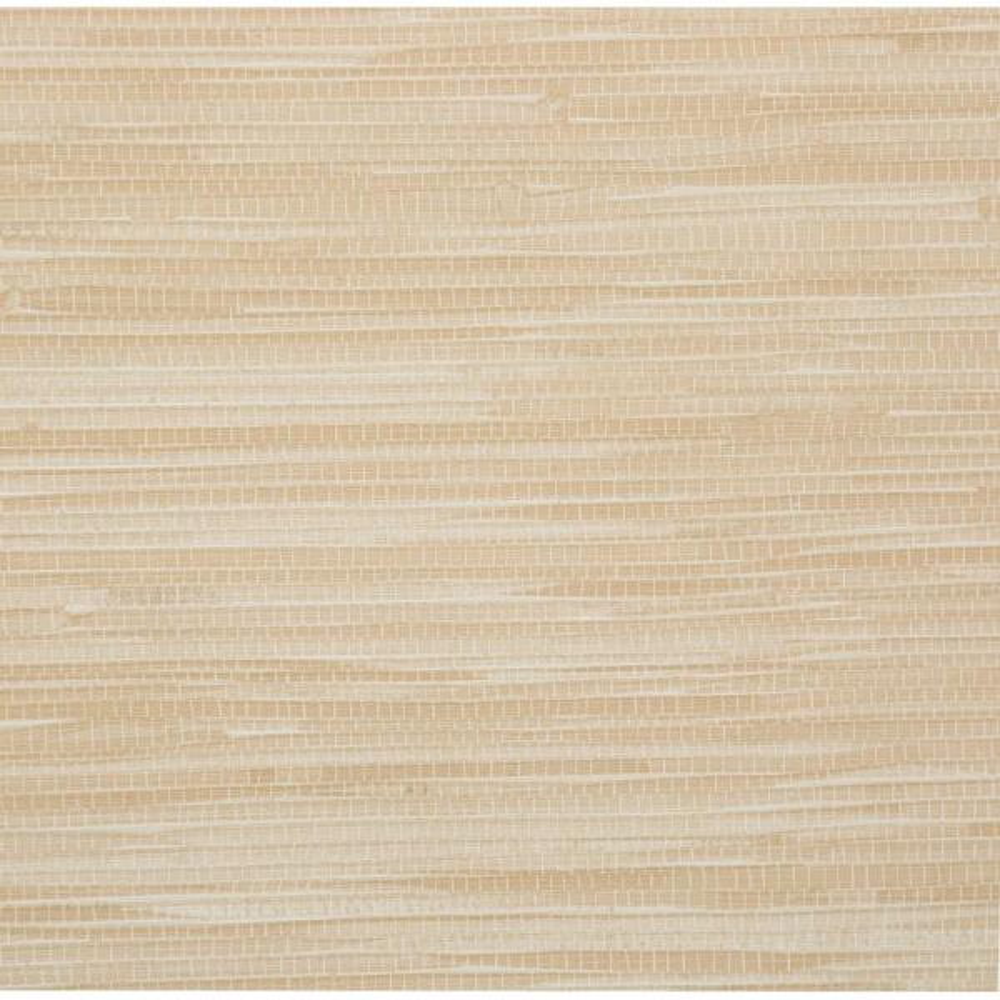 Brewster 56 sq. ft. Lepeka Beige Faux Grasscloth Wallpaper 412-44143