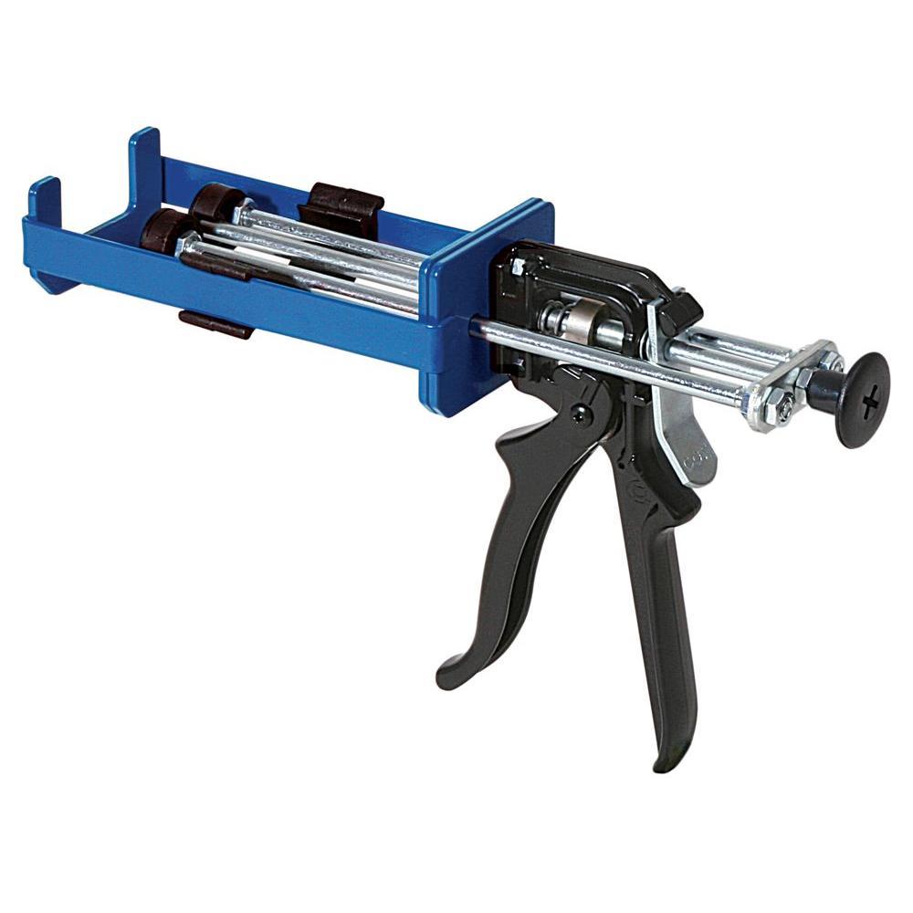 COX 6 oz. Total System 1:1 Mix Ratio Dual Cartridge Extra Thrust Epoxy Applicator Gun