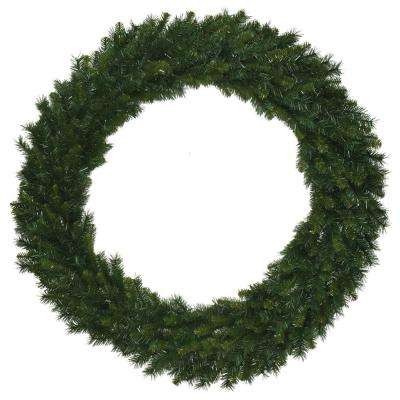 60 in Unlit Multi Pine Wreath with 500 Tips