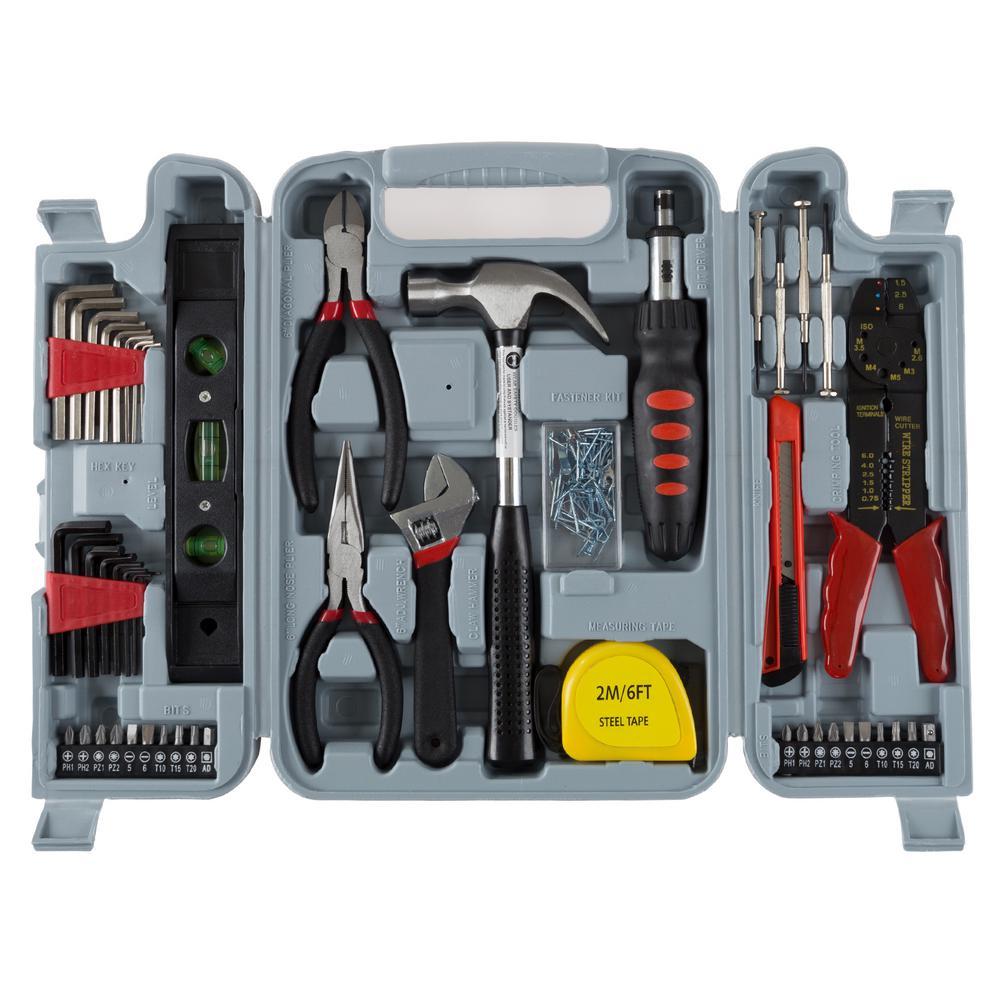 2e02e2909 ANVIL Homeowners Tool Set (76-Piece)-A76HOS - The Home Depot