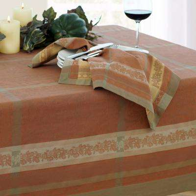 Promenade 21 in. W x 21 in. L in Harvest Cotton Napkins (Set of 4)