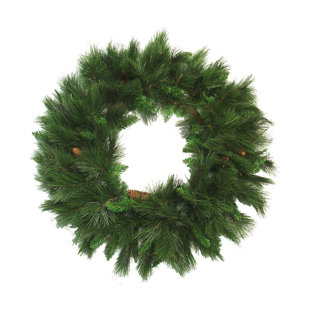 best website 5fb9f 1d131 Northlight 36 in. Unlit White Valley Pine Artificial Christmas Wreath