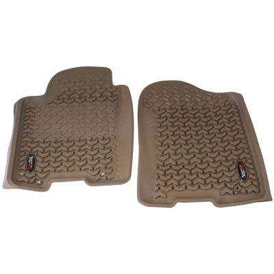 Front Floor Liners in Black